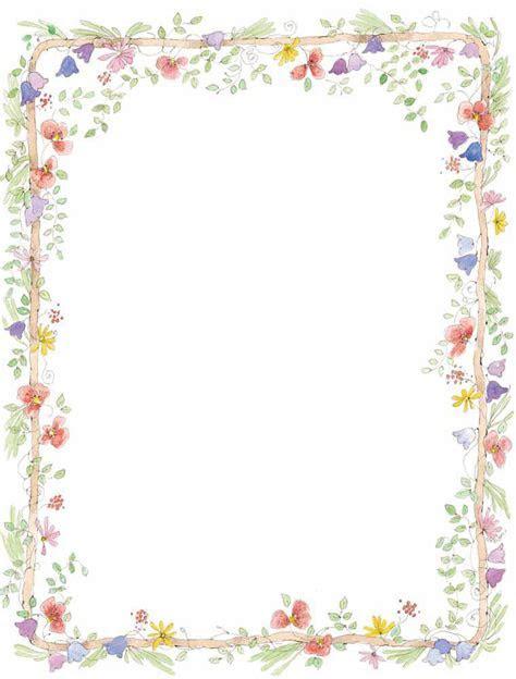 Flowers Blog » free borders flowers