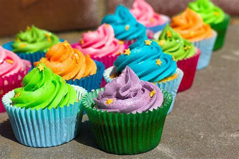 Vanilla Cupcakes for a Children's Birthday Party   Sunday