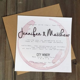 Invitation   Palomar Winery Wedding Invitation #2441274