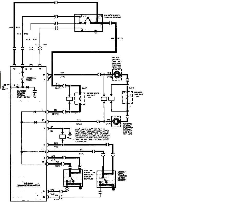 Wire diagram 1995 ford taurus
