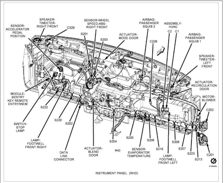 95 Chrysler Lh Wiring Schematic