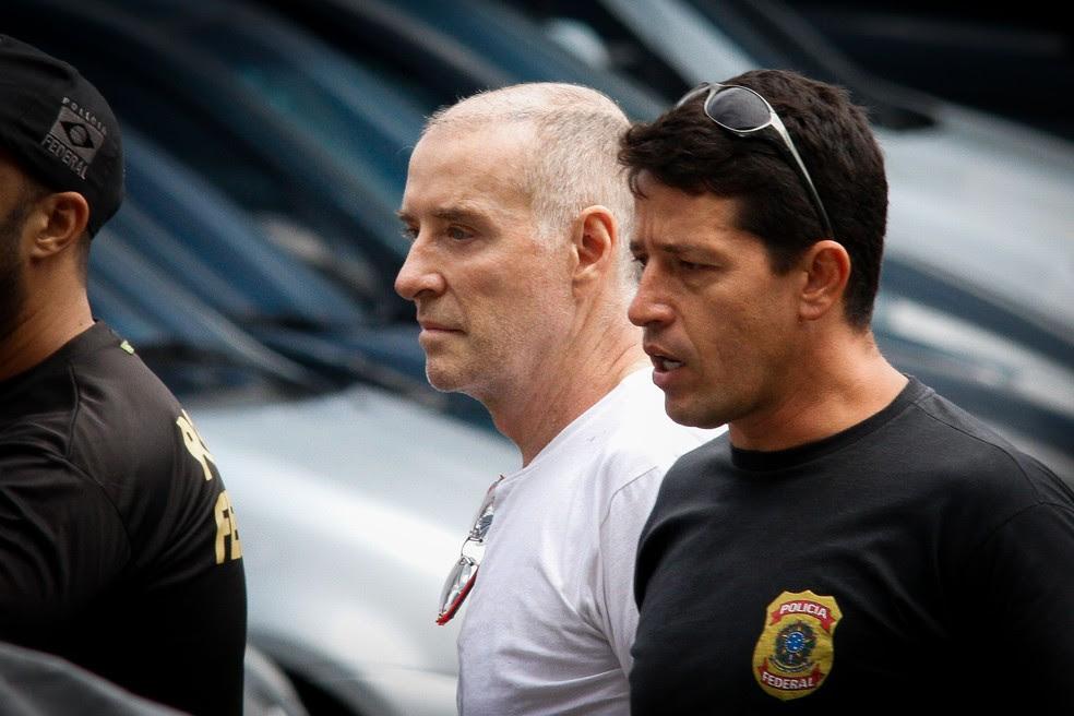O empresário Eike Batista, depois de ter sido detido pela Polícia Federal, em janeiro (Foto: Luciano Belford/Framephoto/Estadão Conteúdo)