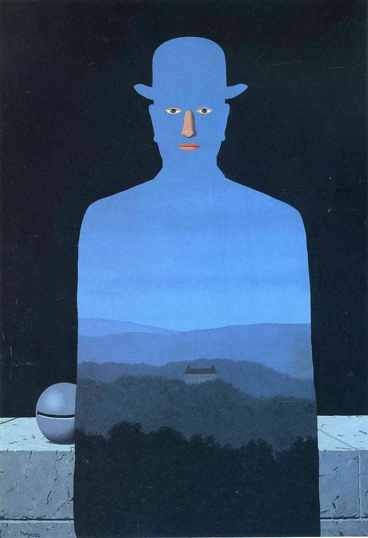 The king's museum, 1966 Rene Magritte