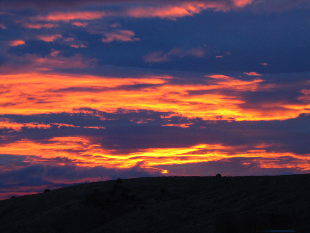 Orange & Blue Sunrise