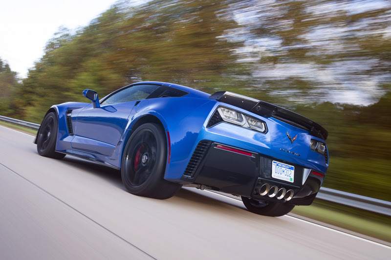 The 650-hp, 2015 Chevrolet Corvette Z06 is one of the most capable vehicles on the market, capable of accelerating from 0 to 60 mph in only 2.95 seconds, achieving 1.2 g in cornering acceleration, and braking from 60-0 mph in just 99.6 feet. The Z06 coupe will arrive at dealers in the U.S. in early 2015.