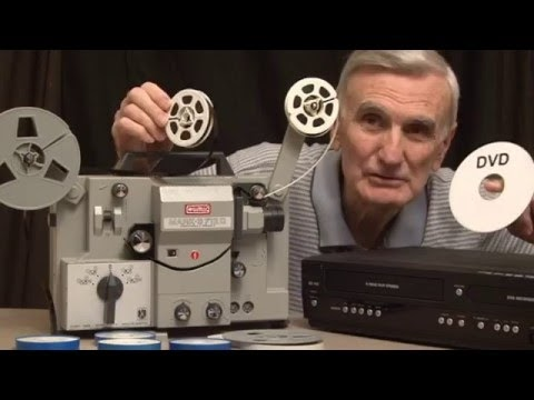 How To Transfer 8mm Film To Dvd Yourself
