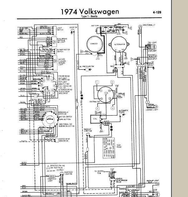 1971 Vw Wiring Diagram