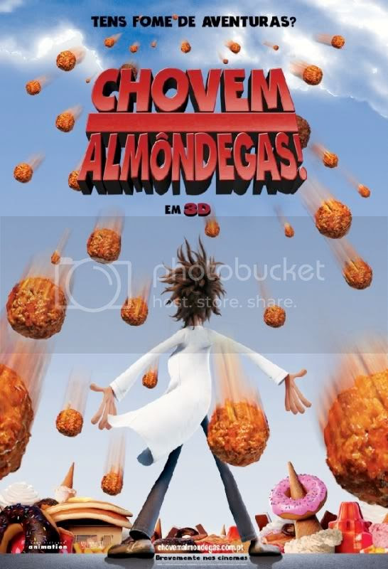 Cloudy with a Chance of Meatballs  Chovem Almôndegas