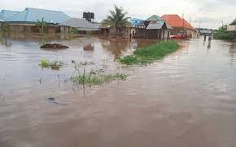 Image result for Flood Sweeps Away Baby During Heavy Downpour In Oyo