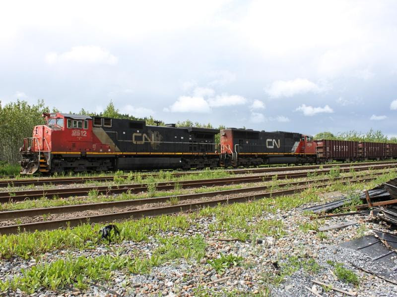 CN 2512 in Saint John
