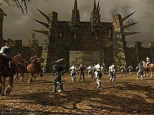 A screenshot of a city siege