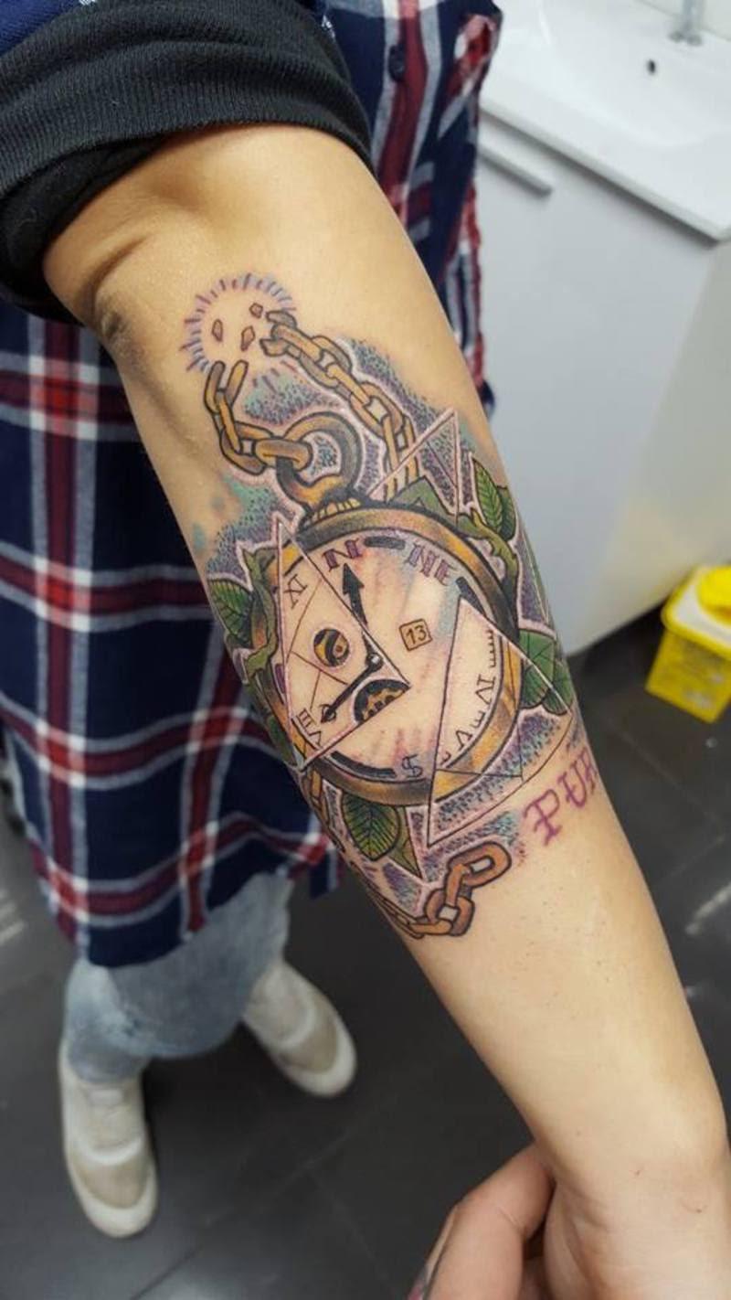 Reloj Vs Brújula