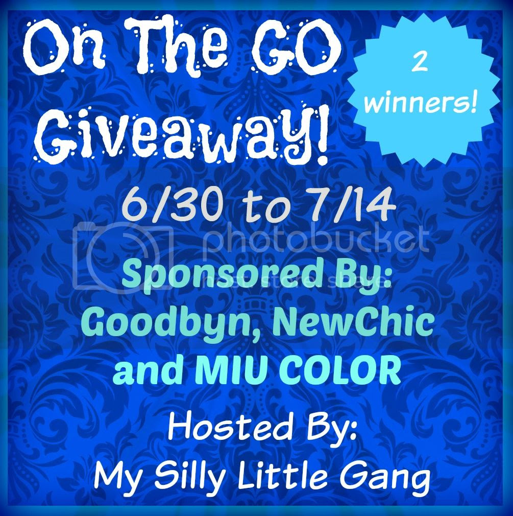 Enter the On The Go Giveaway. Ends 7/14.