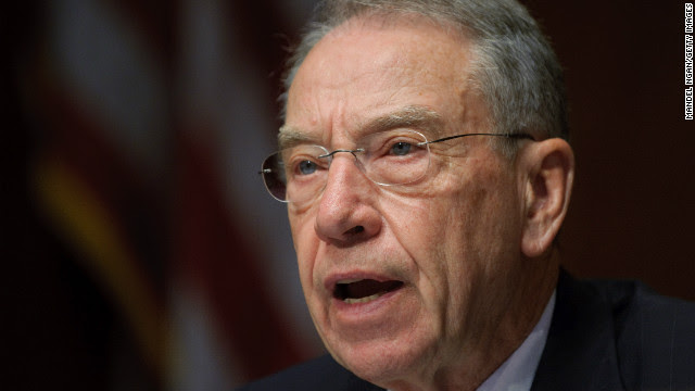 Grassley suggests openness to gun control idea