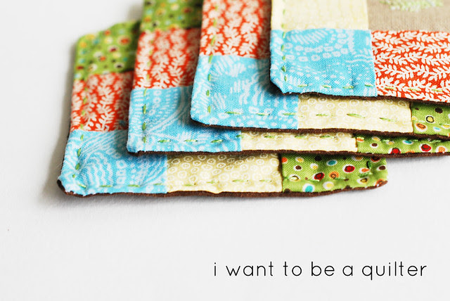 I want to be a quilter