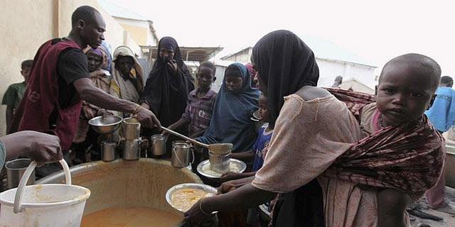 La población subsahariana que pasa hambre ha pasado del 17 al 27%.