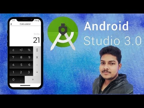 how to create Calculator in android studio