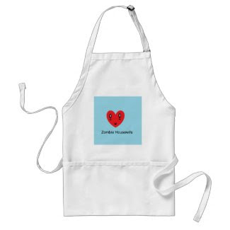 Zombie Housewife apron