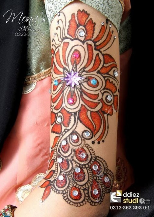 Beautiful-Indian-Bridal-Wedding-New-Mehndi-Designs-Photos-Embroidery-Dulhan-Feet-Mehndi-1