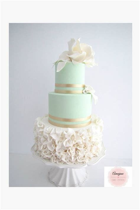 25  Best Ideas about Mint Wedding Cake on Pinterest