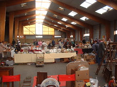 French Vide Grenier / Brocante at Loudeac race course