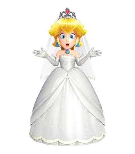 Princess Peach Bridal Dress. Super Mario Odyssey   Super