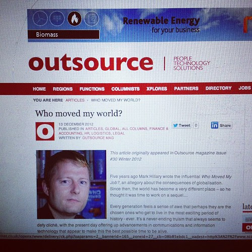 New book www.whomovedmyworld.com #book #livro #markhillary #outsource by markhillary