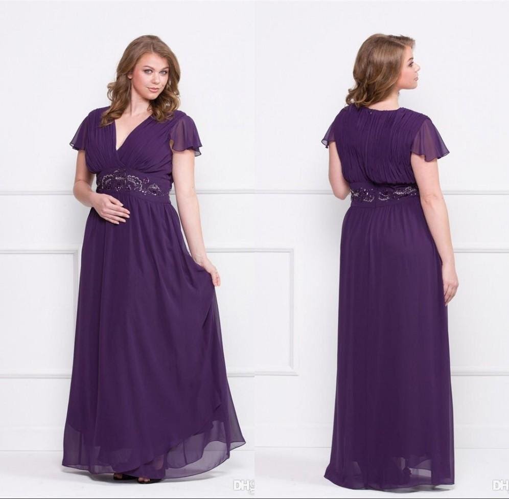 Empire line evening dresses plus size