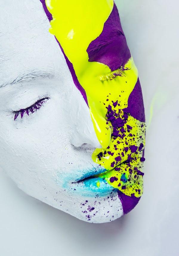 visage liquide, projet par Veronica Azaryan