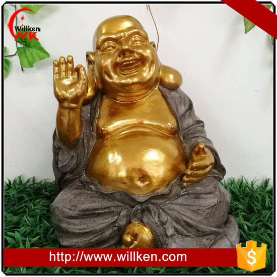 Large Size Laughing Buddha Garden Statue For Sale