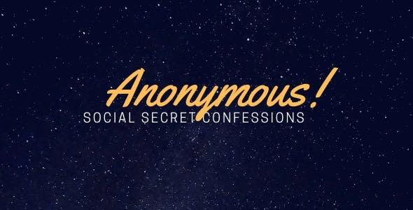 Anonymous - Secret Confessions (25.02.2019)