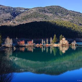 Agios Fanourios / Doxa Lake by Stelios Kritikakis (stelioskritikakis) on 500px.com