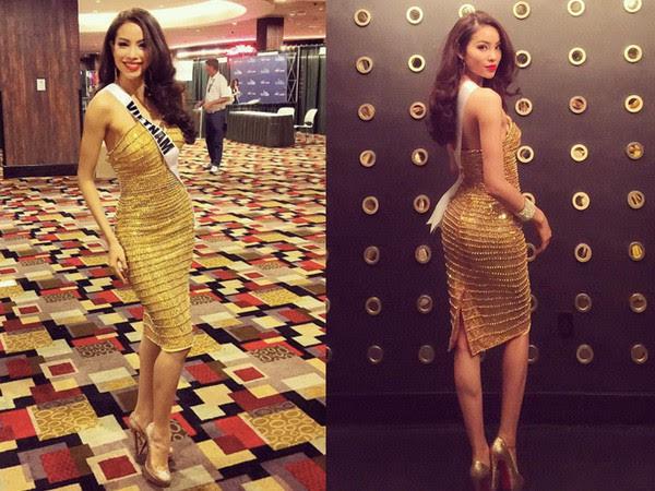 Xem Nguyễn Thị Loan đi thi Miss Universe lần này, mà nhiều người chỉ nhớ đến Phạm Hương của 2 năm trước - Ảnh 4.