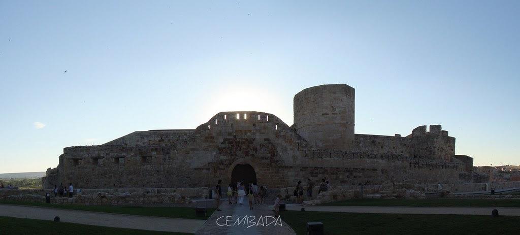 Panoramica Castillo Zamora