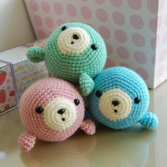 Little Seal Gurumi Crochet Pattern
