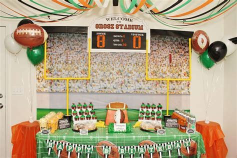 football Birthday Party Ideas   Photo 1 of 21   Catch My Party