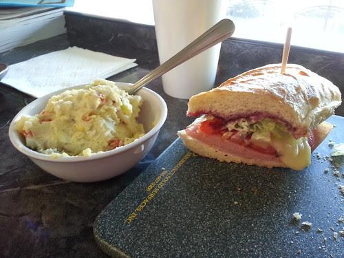 Brie sandwich at croque