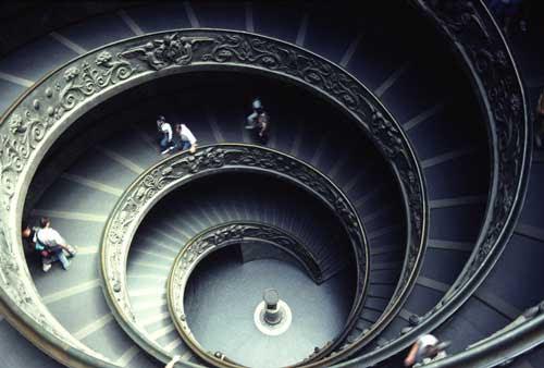 circling stairs