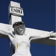 Jesus and INRI
