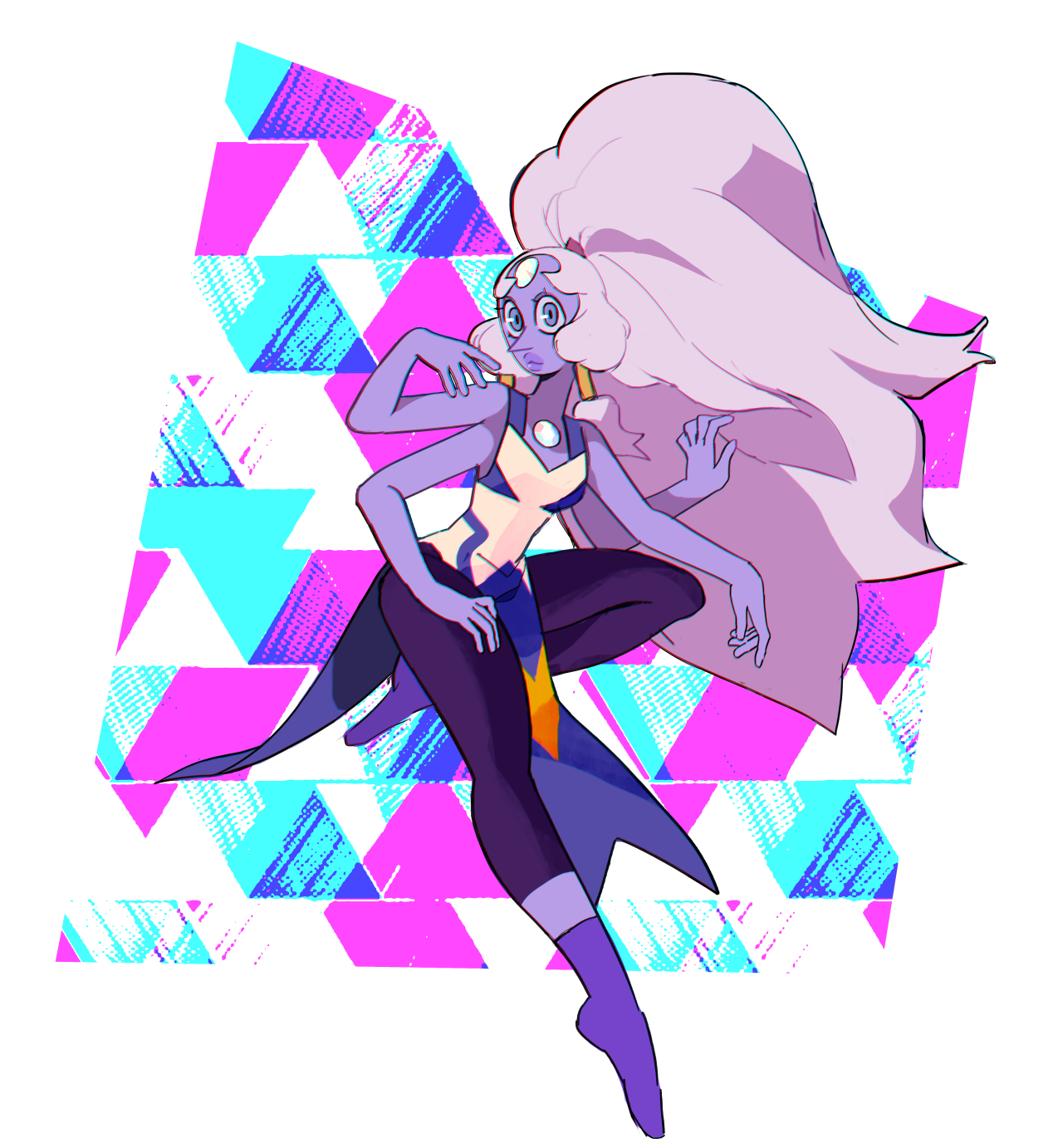 I drew Opal with what I think her newest form would look like