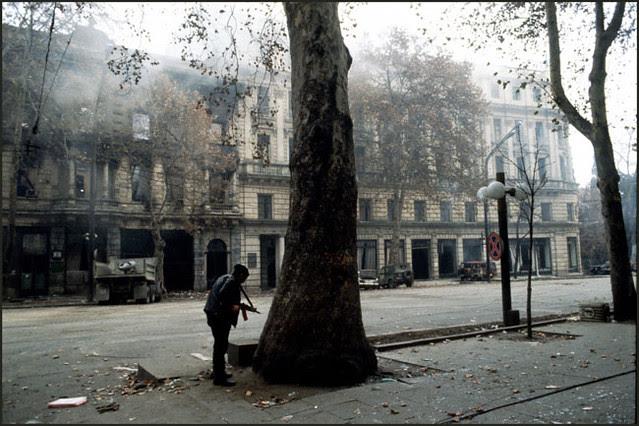 George Tsagareli, Tbilisi 1991