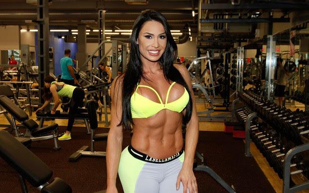 Gracyanne Barbosa (Foto: Celso Tavares/ EGO)