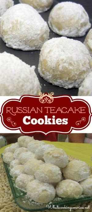 Russian Tea Cake Cookie Recipe, Mexican Wedding Cake