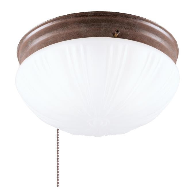 Westinghouse Two-Light Flush-Mount Interior Ceiling Fixture with ...