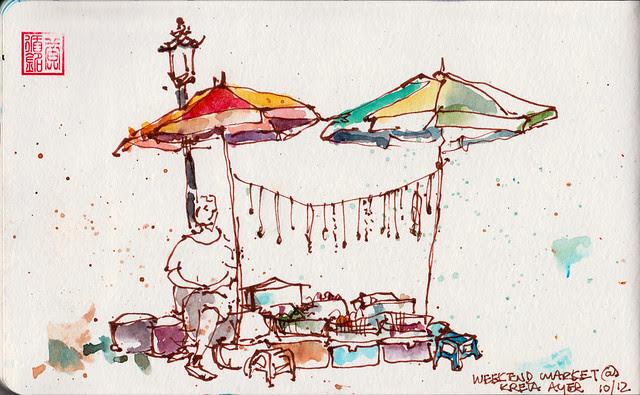 Weekend Flea Market @ Sago Lane