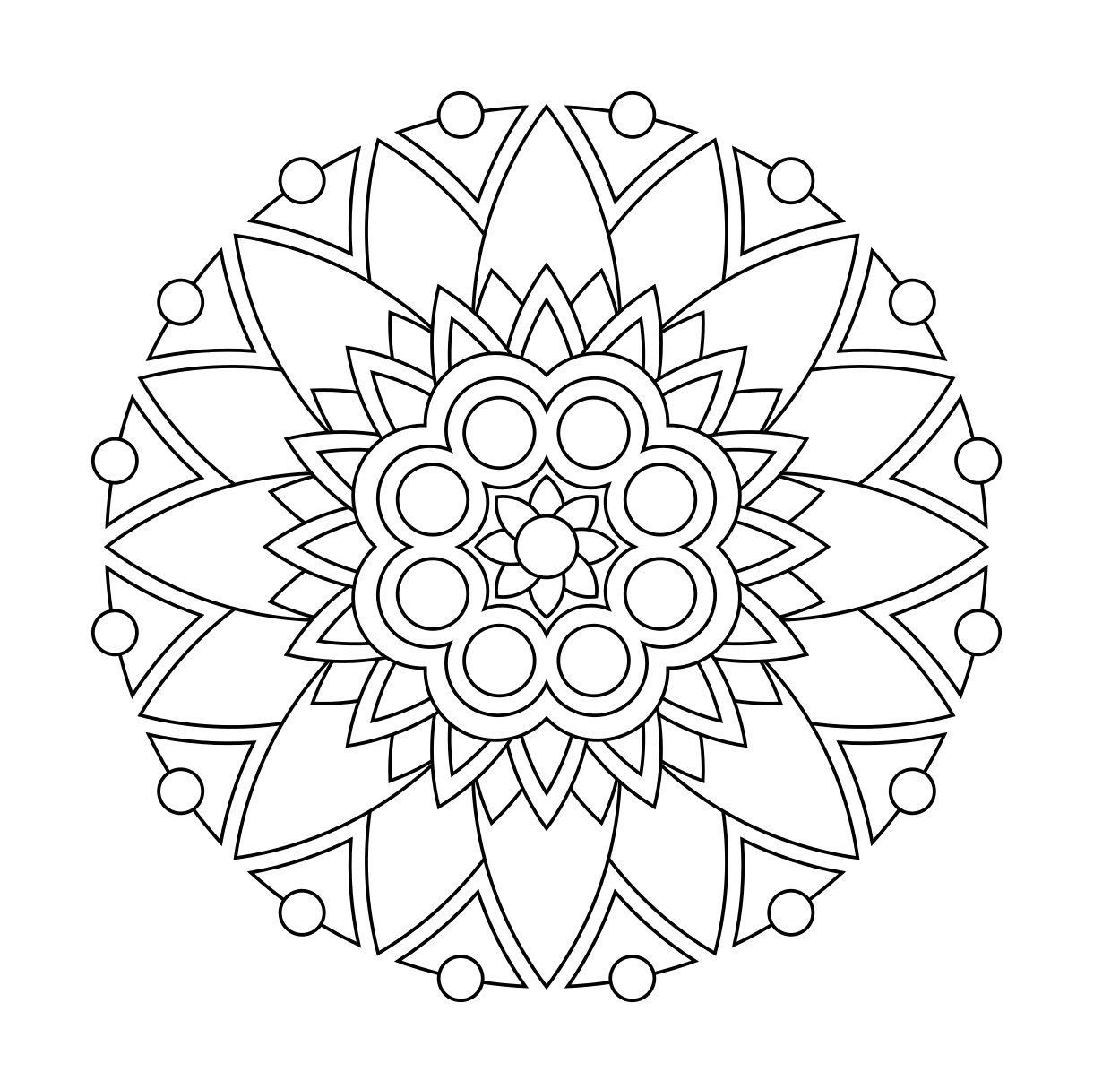 Stress Relieving Coloring Pages Printable at GetColorings ...
