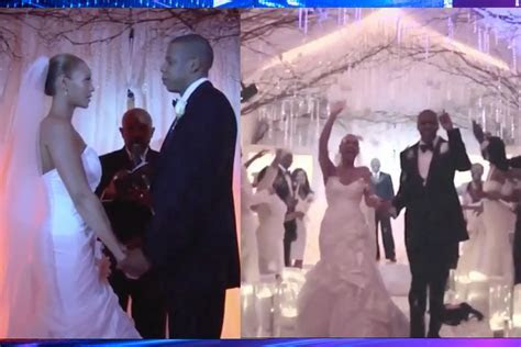 Never Before Seen Footage From Jay Z & Beyonce's Wedding