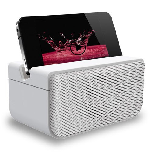 Boombero Wireless Speaker White