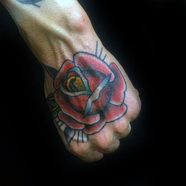 Boy New Tattoo Design Hand