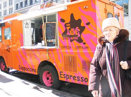 NYC Coffee Cart